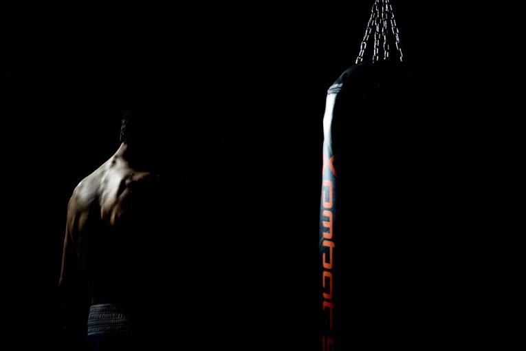 Andrea Scarpa campione italiano boxe pesi superpiuma