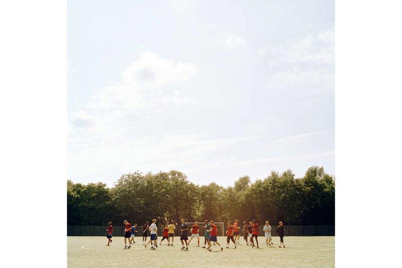 Fisher FC Training, from the series Once Upon a Time in Bermondsey