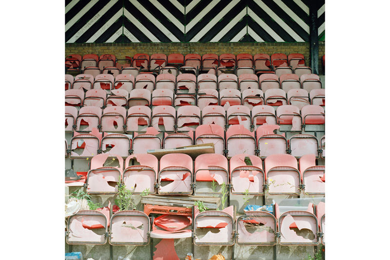 Surrey Docks Stadium Stands, from the series Once Upon a Time in Bermondsey