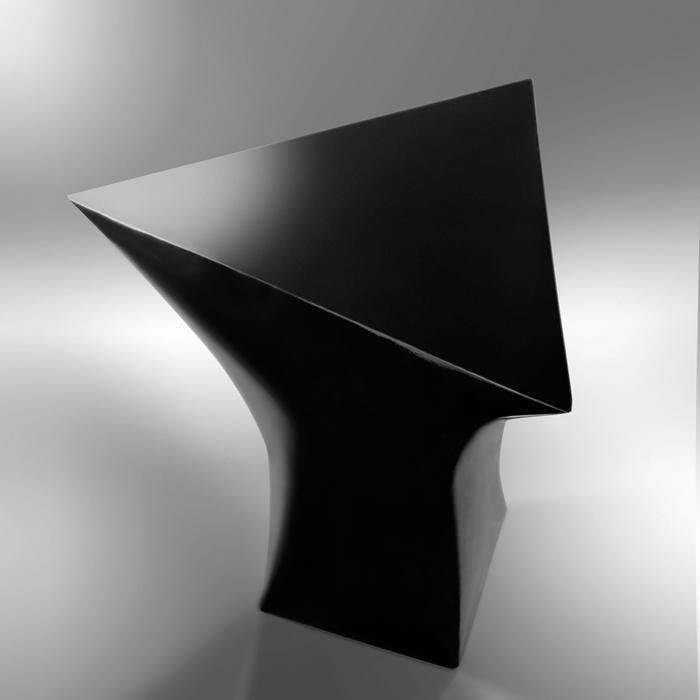 Multiprisma Vase + Table + Chair. Angioli Design Studio for COMOR.
