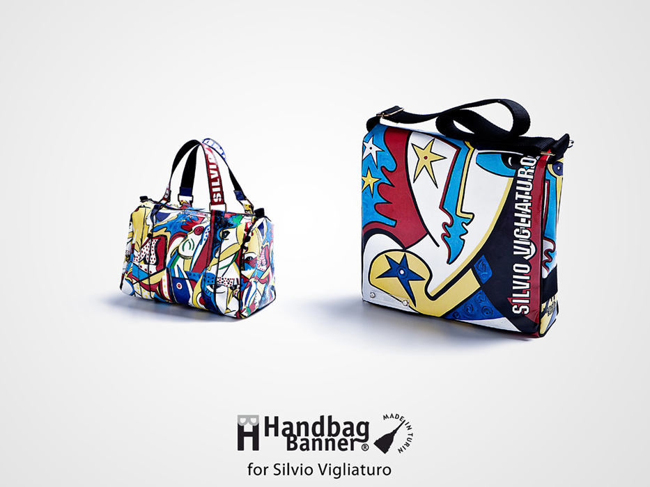 Handbag Banner Special Edition for Silvio Vigliaturo