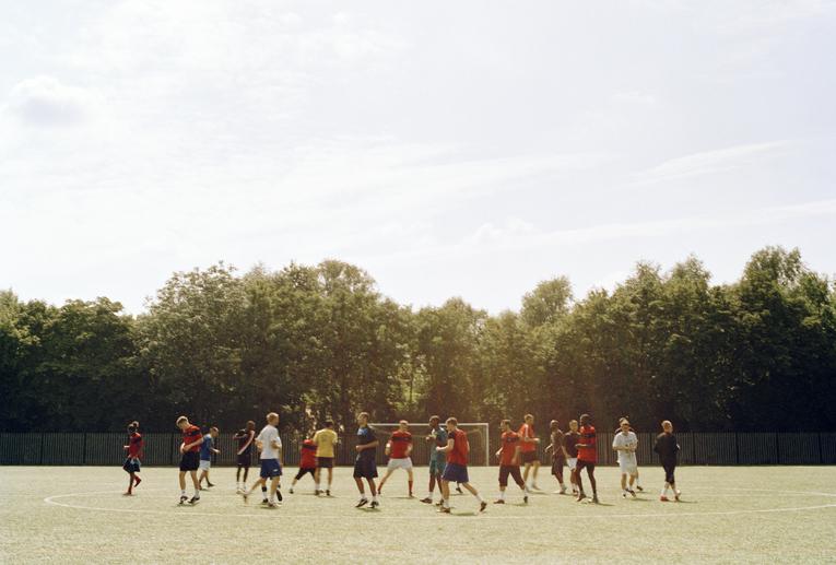 Fisher FC si allena a Bermondsey