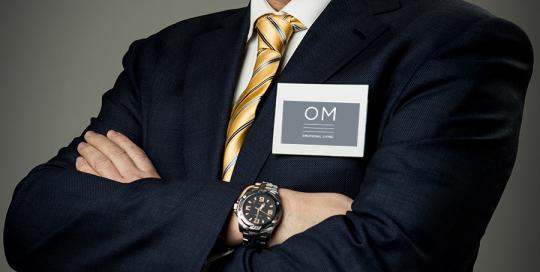 Ritratto corporate di Sebastiano Celesti, CEO di OM Srl, azienda leader nel settore ristrutturazioni, living, case, architettura